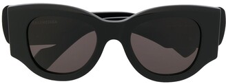 Balenciaga Eyewear chunky cat eye sunglasses