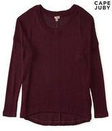 Aeropostale Womens Cape Juby Shaker Stitch Sweater