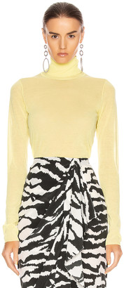 Isabel Marant Azale Knit Top in Yellow | FWRD