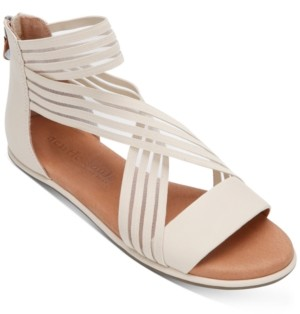 Gentle Souls by Kenneth Cole Women's Break Elastic Stripe Sandals Women's Shoes