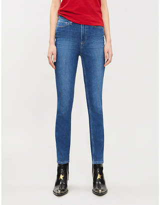 Paige Margot skinny high-rise stretch-denim jeans