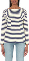MiH Jeans Pocket Breton cotton-jersey top