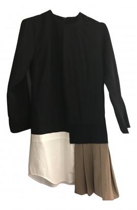 Jacquemus Navy Wool Dresses