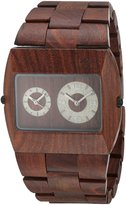 WeWood Men's Jupiter JUPITER- Wood Analog Quartz Watch with Dial