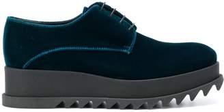 Jil Sander platform lace-up shoes