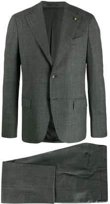 Lardini Glen check pattern suit