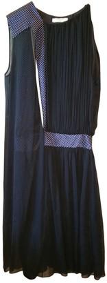 Bouchra Jarrar Black Silk Dress for Women