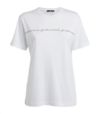 7 For All Mankind Crystal T-Shirt