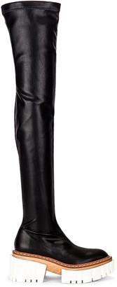Stella McCartney Emilie High Boots in Black | FWRD