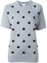 Marc Jacobs embellished short sleeve sweatshirt