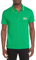 Lacoste &Sprinter Century& Graphic Pique Polo