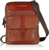 The Bridge Brown Leather Men's Crossbody Bag