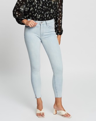 Mng Women's Blue Skinny - Jeans Isa - Size 32 at The Iconic