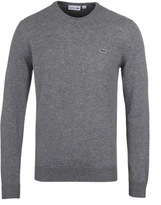 Lacoste Grey Marl New Wool Sweater