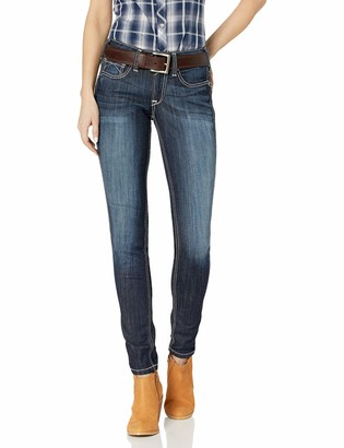 Ariat Women's R.E.A.L. Riding Mid Rise Skinny Jean