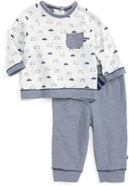 Offspring Infant Boy's Traffic Circles Sweatshirt & Pants Set