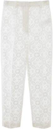 Alexander McQueen Lace Pants