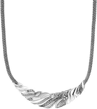 John Hardy Lahar Diamond Sterling Silver Pendant Necklace