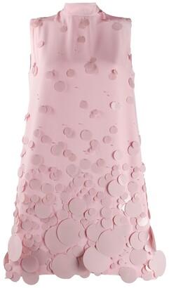 Prada sequin-embellished short dress