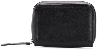 Ann Demeulemeester Pebbled Leather Wallet