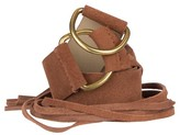 Women's Suede Belt Tan - Mossimo Supply Co.