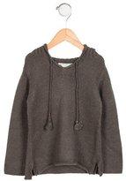 Bonpoint Girls' Alpaca-Blend Hooded Sweater
