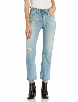 AG Jeans Women's Rhett Denim Destructed Pants