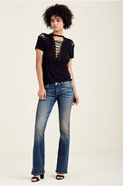 True Religion Nikki Flare Womens Jean