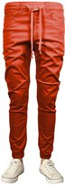 Guytalk Mens Hip Hop Jogger Pants Twill Slim Fit Large