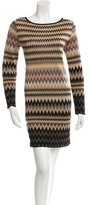 M Missoni Chevron Open Back Dress