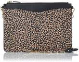 LK Bennett Rachel Animal Print Leather Pouch