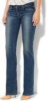 New York & Co. Soho Jeans - Curvy Bootcut - Parade Blue Wash - Average