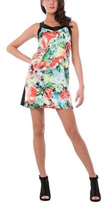 Linea Les Sophistiquees Women's Abito Smanicato, Dritta Dress,S