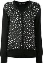 Dolce & Gabbana polka dot cardigan - women - Silk - 40