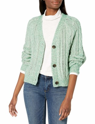 Cupcakes And Cashmere Women's Athena Cable Knit Cardigan