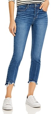 Paige Skyline Cropped Skinny Jeans