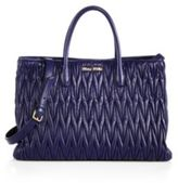Miu Miu Matelasse Double Handle Tote