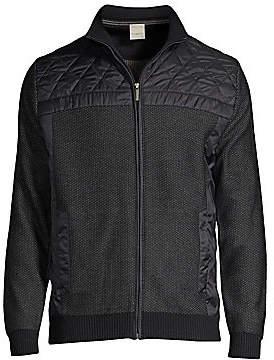 Bugatti Men's Zip Front Sweater