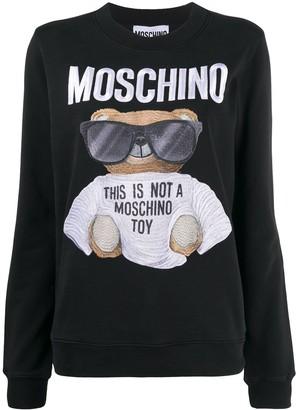 Moschino Graphic Print Sweatshirt