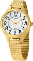 Timex Carraige Womens Goldtone Expansion Band Watch