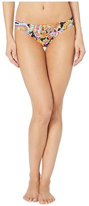 Luli Fama Moon Nights Lace Trim Banded Full Bottoms (Multi) Women's Swimwear