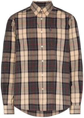 Barbour Sandwood button-down checked cotton shirt