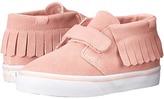 Vans Kids Chukka V Moc Blossom/True White) Girls Shoes