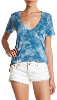 C&C California Violet Relaxed Deep V-Neck Tee