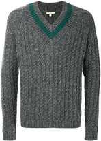 Burberry cable knit sweater