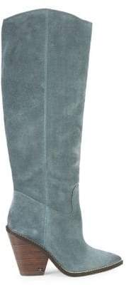 Sam Edelman Suede Pointed Knee-High Boots