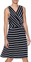 Umgee USA Striped Sleeveless Dress