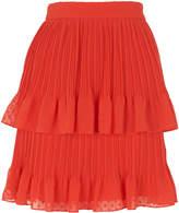 Whistles Ellie Dobbi Tiered Skirt