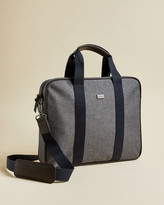 Ted Baker RUNAWAY Textured document bag