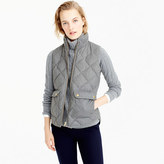 J.Crew Excursion quilted vest in flannel